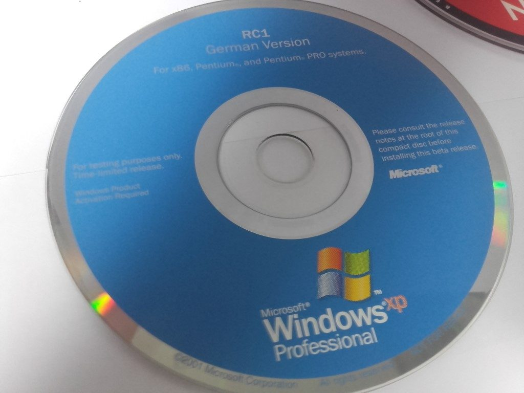 Windows XP bootable CD