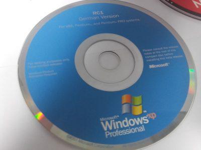 Windows XP bootable CD