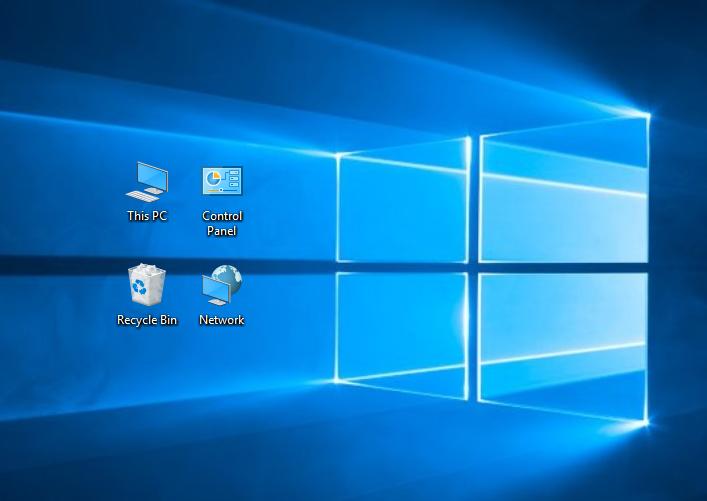 работен плот Windows 10