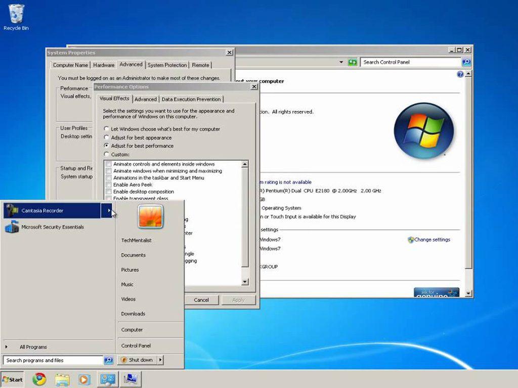 Windows 7 Classic