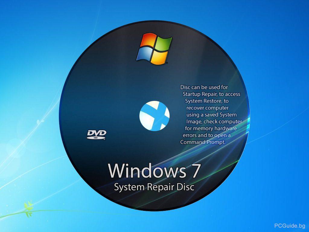 Windows 7 Repair disc