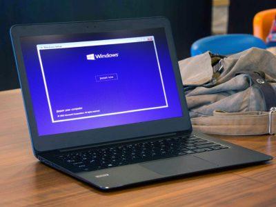 Windows 10 install