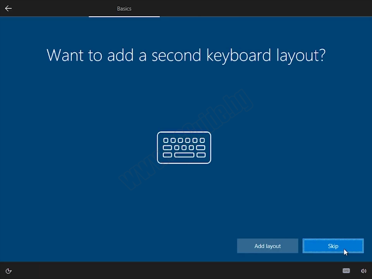 Want to add a second keyboard layout
