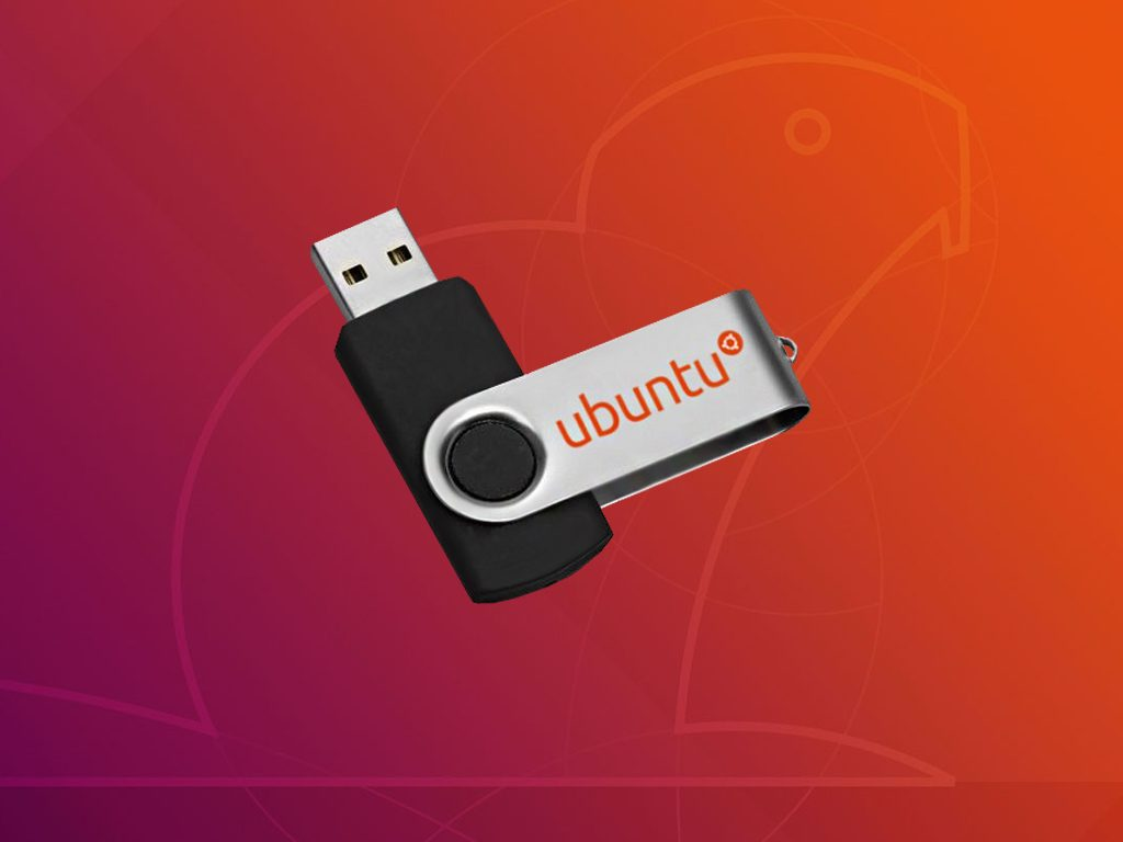 Ubuntu USB памет