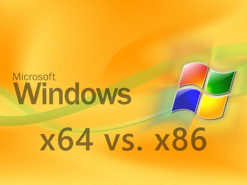 Windows x64 vs x86