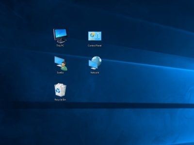 Десктоп икони на Windows 10