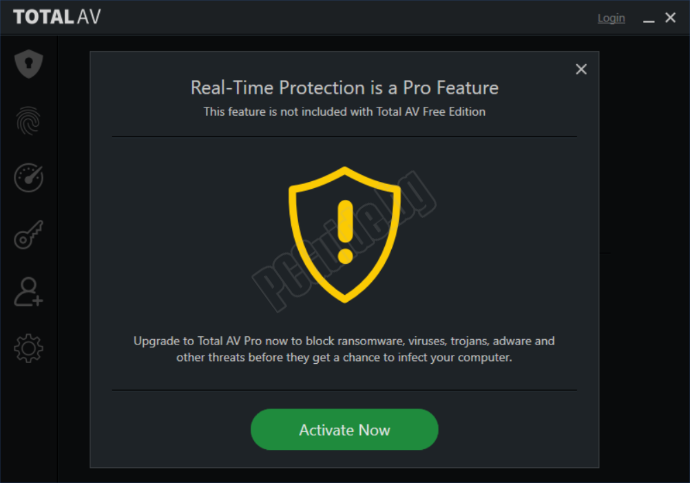 activate real time protection