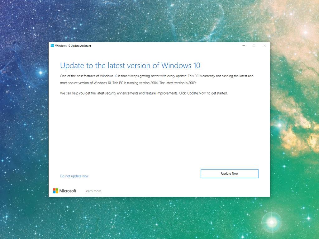 Помощник за актуализация на Windows 10