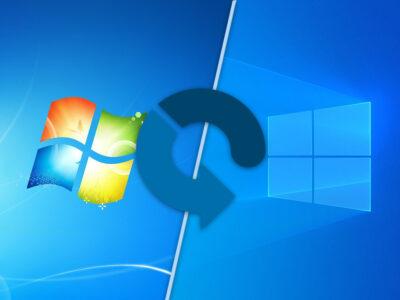 Надстрояване на Windows